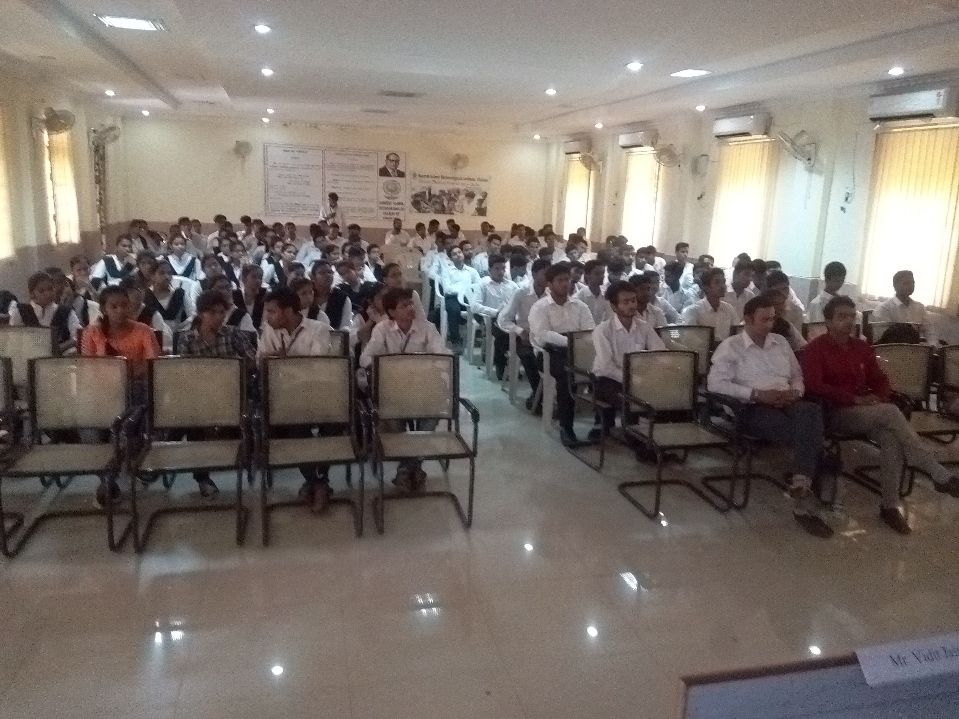 Workshop on Robotics in SATI Vidisha